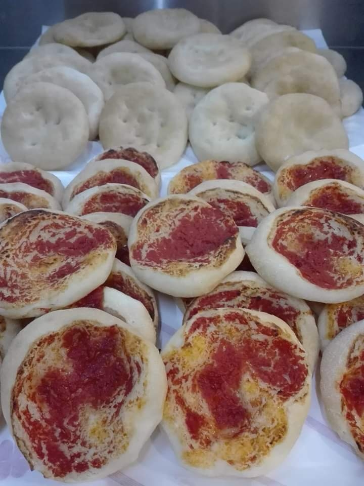 Pizzette Bianche o Rosse